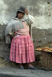 Bolivian Woman Royalty Free Stock Image