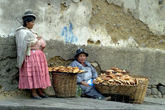 Bolivian Woman 2 Royalty Free Stock Images