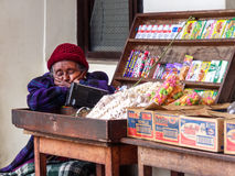 Bolivian Woman Royalty Free Stock Photos