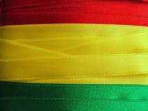 BOLIVIANISCHE Flagge oder Fahne Stockbilder