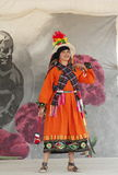 Bolivianische Frau Lizenzfreie Stockfotografie