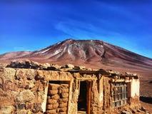 Bolivianische Grenze lizenzfreie stockfotos