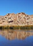 Bolivianische Landschaft Stockfoto