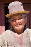 Boliviano indigeno fotografia stock libera da diritti