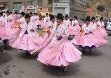 Boliviansk Fiesta Arkivbild