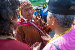 Bolivianska invandrare Royaltyfri Foto