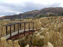 Bolivie tur Arkivfoton