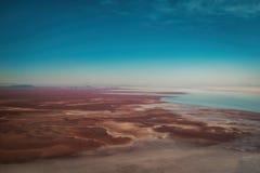 Bolivien Salar de Uyuni Aerial Stockfotografie