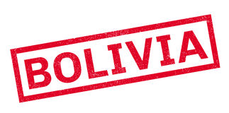 Bolivien-Stempel Lizenzfreie Stockfotos