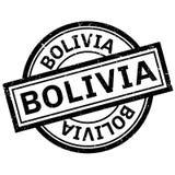 Bolivien-Stempel Stockbild