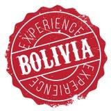 Bolivien-Stempelgummischmutz Lizenzfreie Stockfotos