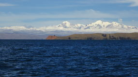 Bolivien Titicaca-See, Sun-Insel stockbild