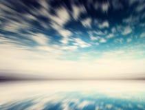 Boliwia niebo i wodni lustrzani odbicia zdjęcie royalty free