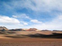 Boliwijski altiplano Obrazy Stock