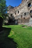 bolkow城堡欧洲波兰 图库摄影