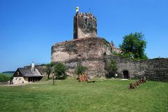 Bolkow Schloss, Polen, Europa Lizenzfreie Stockfotografie