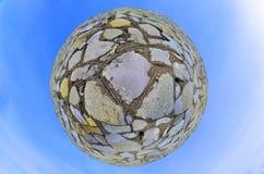 Boll av stenen Royaltyfri Foto