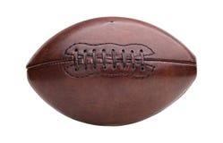 Boll för amerikansk fotboll för tappning Royaltyfria Foton