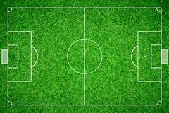 Boll för fotboll för fotbollfält Royaltyfri Foto