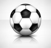 Boll för fotboll (fotboll) Royaltyfria Bilder