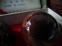 Boll för kinesisk medicin Royaltyfri Foto