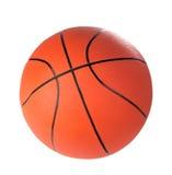 Boll för lek i basket av orange färg Arkivbild