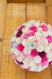 Boll för pappers- blommor Royaltyfri Foto