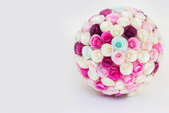 Boll för pappers- blommor Royaltyfria Foton