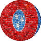 Boll med den Tennessee flaggan - illustration Royaltyfria Foton
