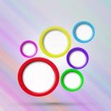 Bolla astratta di disegno di Web Fotografie Stock