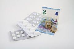 Bolla delle medicine Immagine Stock