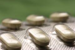 Bolla delle pillole Fotografie Stock