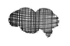 Bolla dello scarabocchio Fotografia Stock