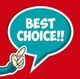 Bolla sociale choice migliore Fotografia Stock