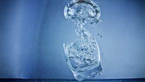 Bolla subacquea da vetro Fotografia Stock