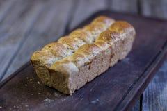Bollar av brunt bröd Arkivbild
