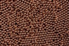 Bollar av koppar Arkivbild