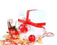 bollar box den festliga gåvan Royaltyfri Bild