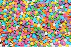 bollar färgade mång- Arkivfoto