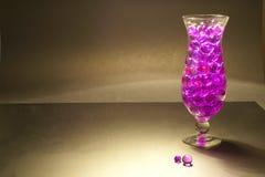 bollar fyllt exponeringsglas Arkivfoto