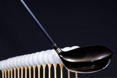 bollar golf hiten fodrat klart till upp Royaltyfri Foto