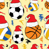 Bollar i jullock Arkivbilder