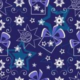 bollar mönsan seamless stjärnor Royaltyfri Bild