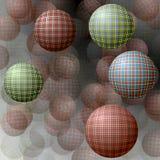 Bollar med en textur Arkivfoto