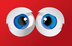 bollar som sväller ut ögon Fotografering för Bildbyråer