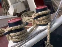 Bollard. Ship bollard Stock Photo