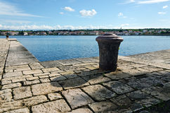 Bollard. Petrcane Royalty Free Stock Photos