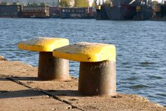 Bollards Stock Photography