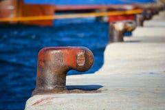 Bollards Stock Photo