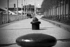 Bollards Royalty Free Stock Images
